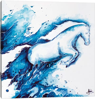 Ride The Lightning Canvas Print #MAE52