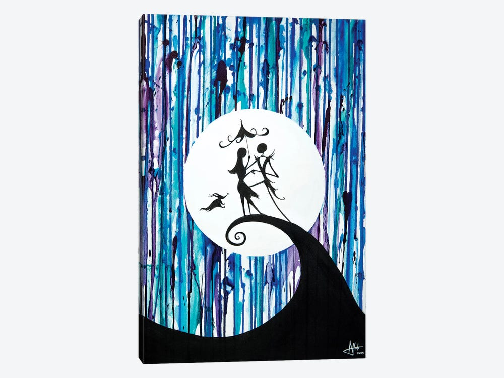 Something In The Air by Marc Allante 1-piece Canvas Print
