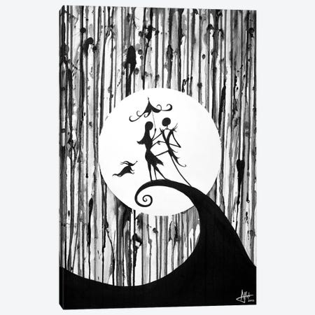 Something In The Air in B&W Canvas Print #MAE54} by Marc Allante Canvas Art
