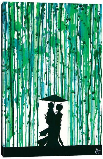 The Emerald Grove Canvas Art Print