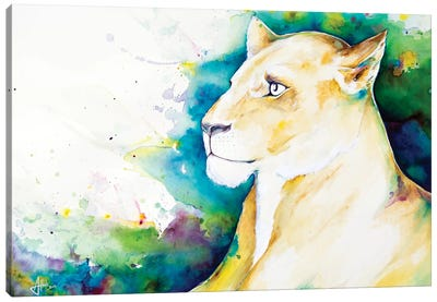 Artemis Canvas Art Print