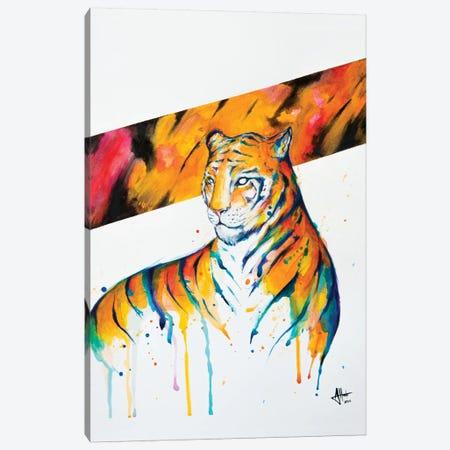 Burning Bright Canvas Print #MAE63} by Marc Allante Canvas Artwork