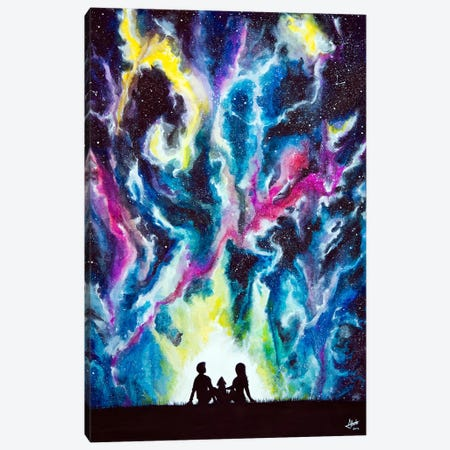 Stardust Canvas Print #MAE78} by Marc Allante Art Print