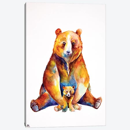 Bear Necessities Canvas Print #MAE80} by Marc Allante Canvas Wall Art