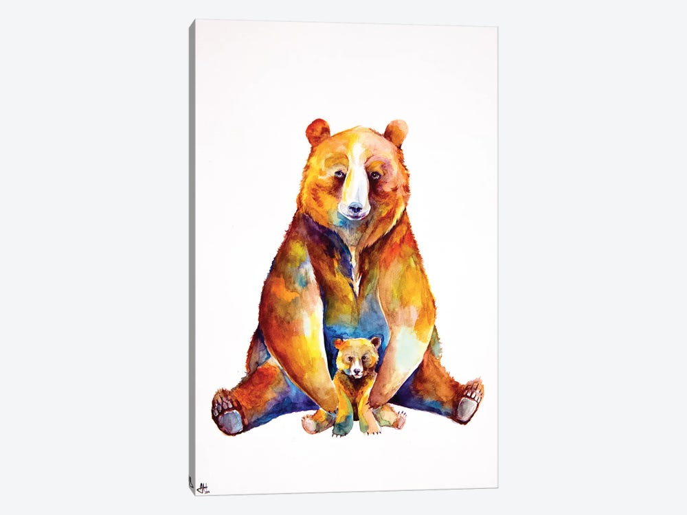 Bear Necessities by Marc Allante 1-piece Canvas Art Print
