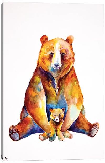 Bear Necessities Canvas Art Print