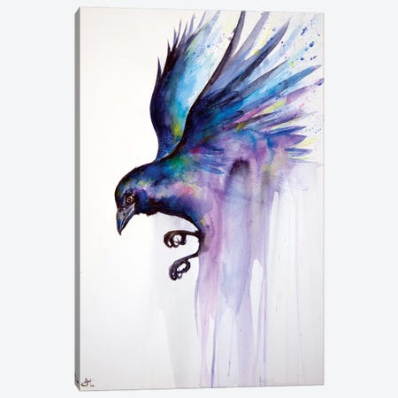 Nevermore Canvas Print #MAE82} by Marc Allante Canvas Art