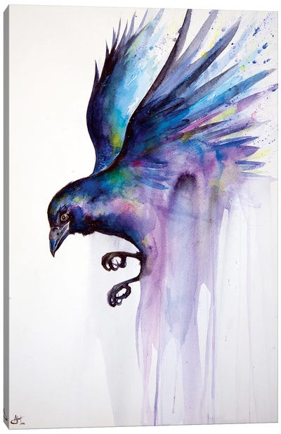 Nevermore Canvas Art Print
