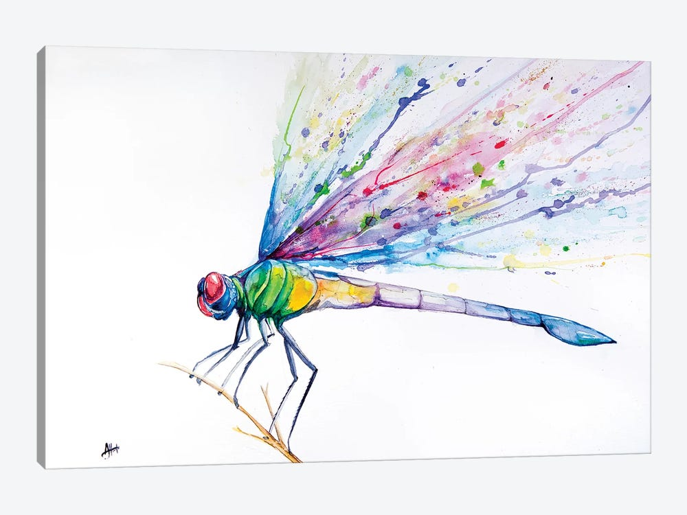 Dragonfly 1-piece Canvas Wall Art
