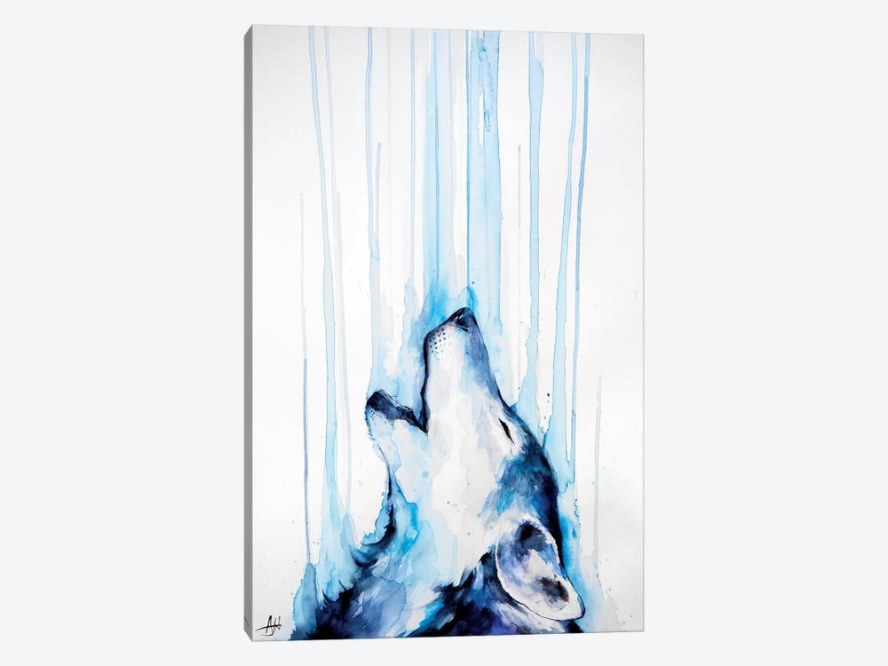 Howl by Marc Allante 1-piece Canvas Art Print