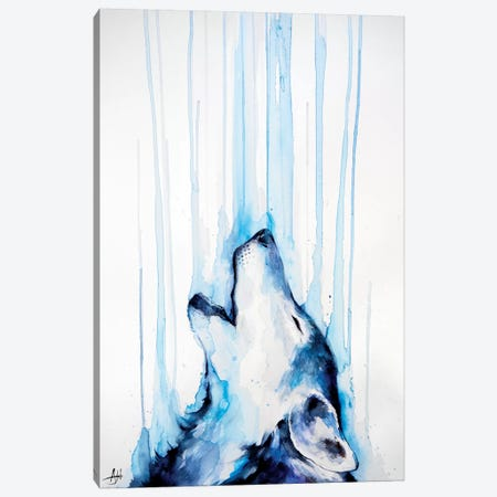 Howl Canvas Print #MAE93} by Marc Allante Canvas Art Print