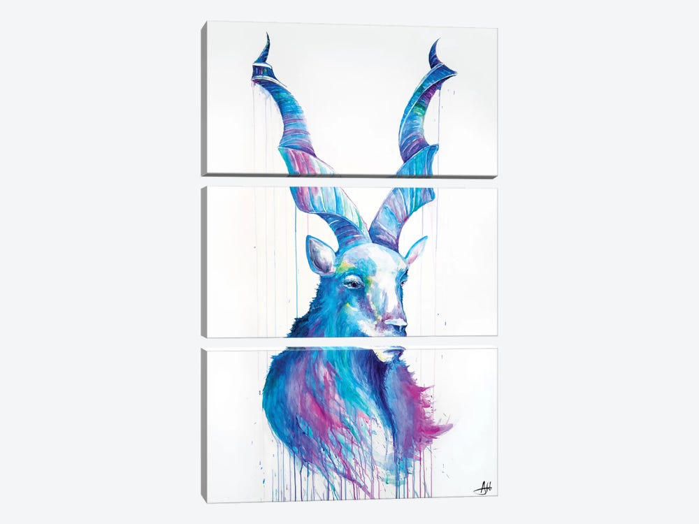 Shiro by Marc Allante 3-piece Canvas Art Print