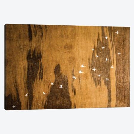 Snow Falling On Cedars Canvas Print #MAE99} by Marc Allante Canvas Art Print