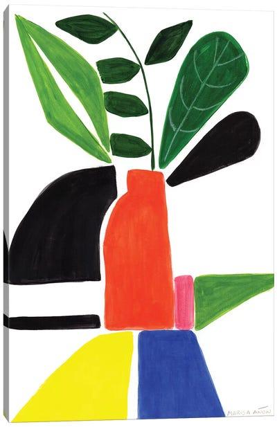 Abstract Plants I Canvas Art Print