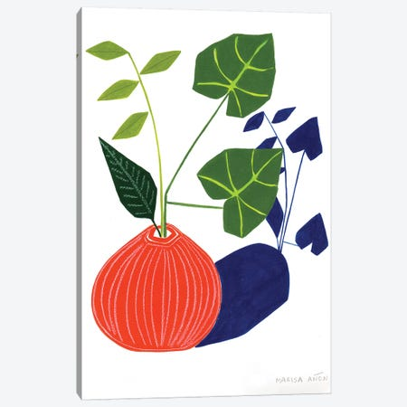 Abstract Plants XIV Canvas Print #MAF12} by Marisa Añon Frau Canvas Wall Art
