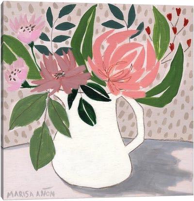 April Florals IV Canvas Art Print