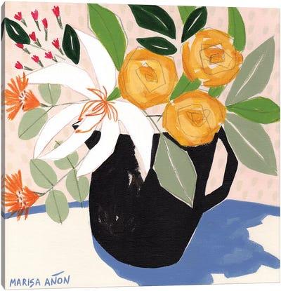 April Florals X Canvas Art Print