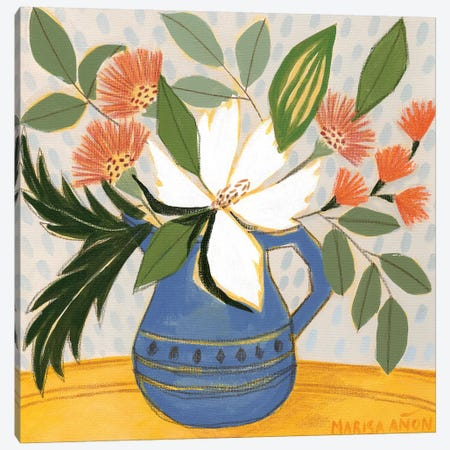 April Florals XI 3-Piece Canvas #MAF1} by Marisa Añon Frau Canvas Art Print
