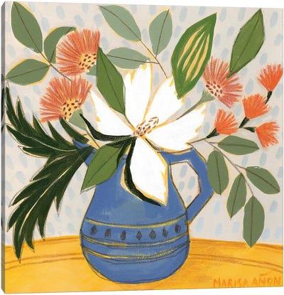 April Florals XI Canvas Art Print