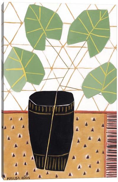 Gold Tablecloth III Canvas Art Print