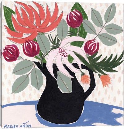 April Florals XII Canvas Art Print