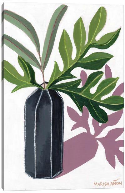 Shades of Green II Canvas Art Print