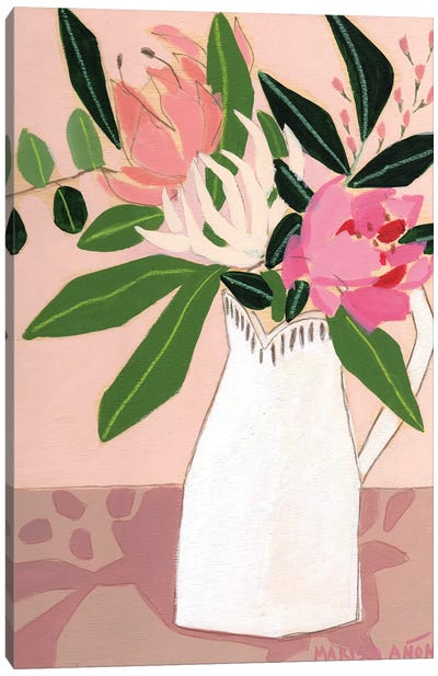 Spring Florals II Canvas Art Print