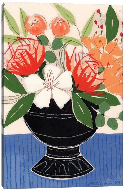 Spring Florals IX Canvas Art Print