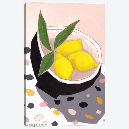 Valencian Lemmons    Canvas Print #MAF36} by Marisa Añon Frau Art Print