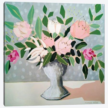 Spring Florals I 3-Piece Canvas #MAF3} by Marisa Añon Frau Canvas Print