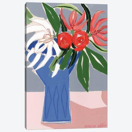 Spring Florals X 3-Piece Canvas #MAF4} by Marisa Añon Frau Canvas Wall Art