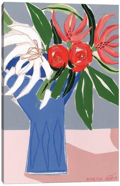 Spring Florals X Canvas Art Print