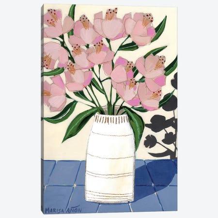 Spring Florals V 3-Piece Canvas #MAF5} by Marisa Añon Frau Canvas Wall Art