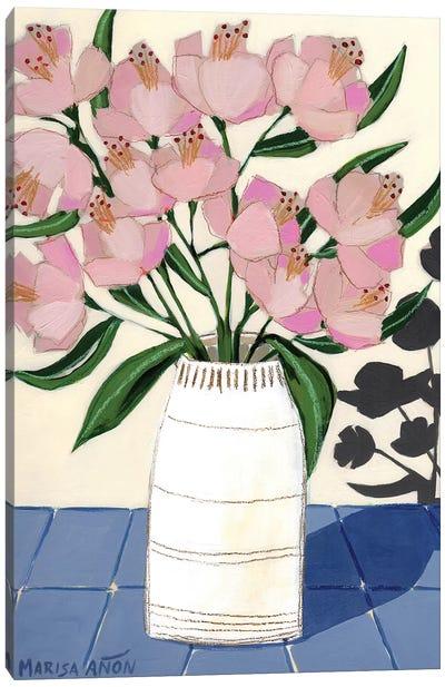 Spring Florals V Canvas Art Print