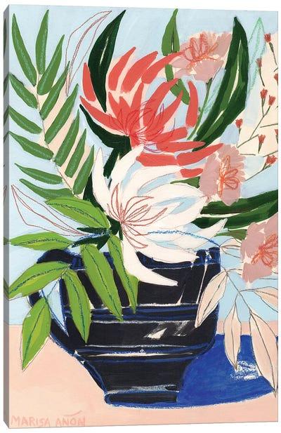 Spring Florals VI Canvas Art Print