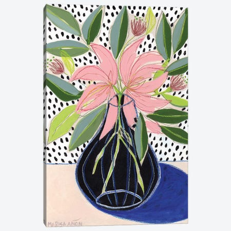Spring Florals VII 3-Piece Canvas #MAF7} by Marisa Añon Frau Canvas Art
