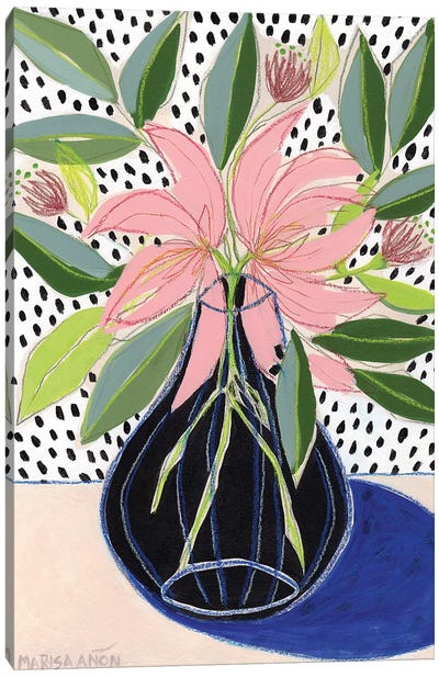 Spring Florals VII Canvas Art Print