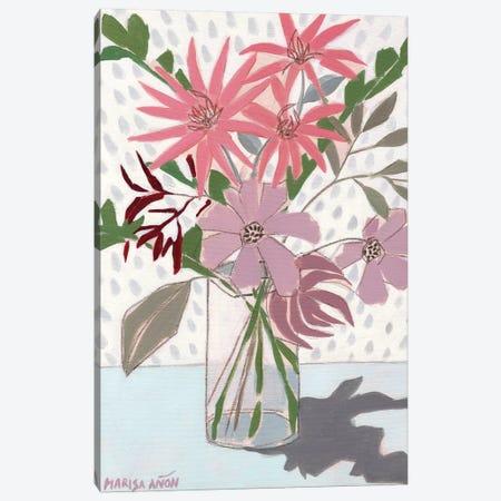 Summer Flowers 3-Piece Canvas #MAF8} by Marisa Añon Frau Canvas Print