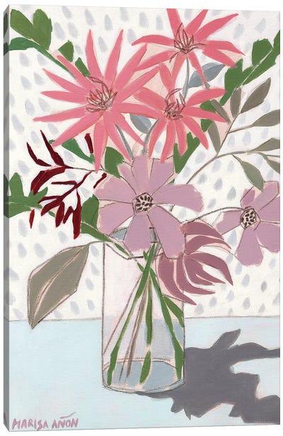 Summer Flowers Canvas Art Print