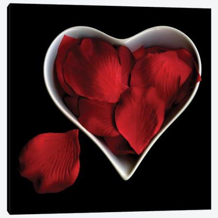 Love Overflowing Canvas Print #MAG44} by Magda Indigo Art Print