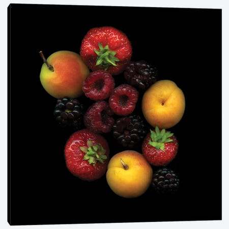 Tutti Frutti Canvas Print #MAG92} by Magda Indigo Canvas Print