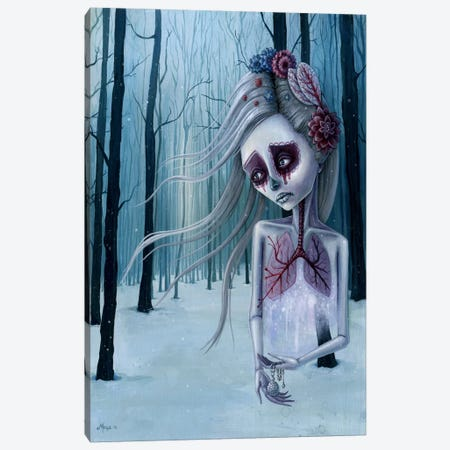 Beautiful Decay Of Life Canvas Print #MAJ10} by Megan Majewski Canvas Wall Art