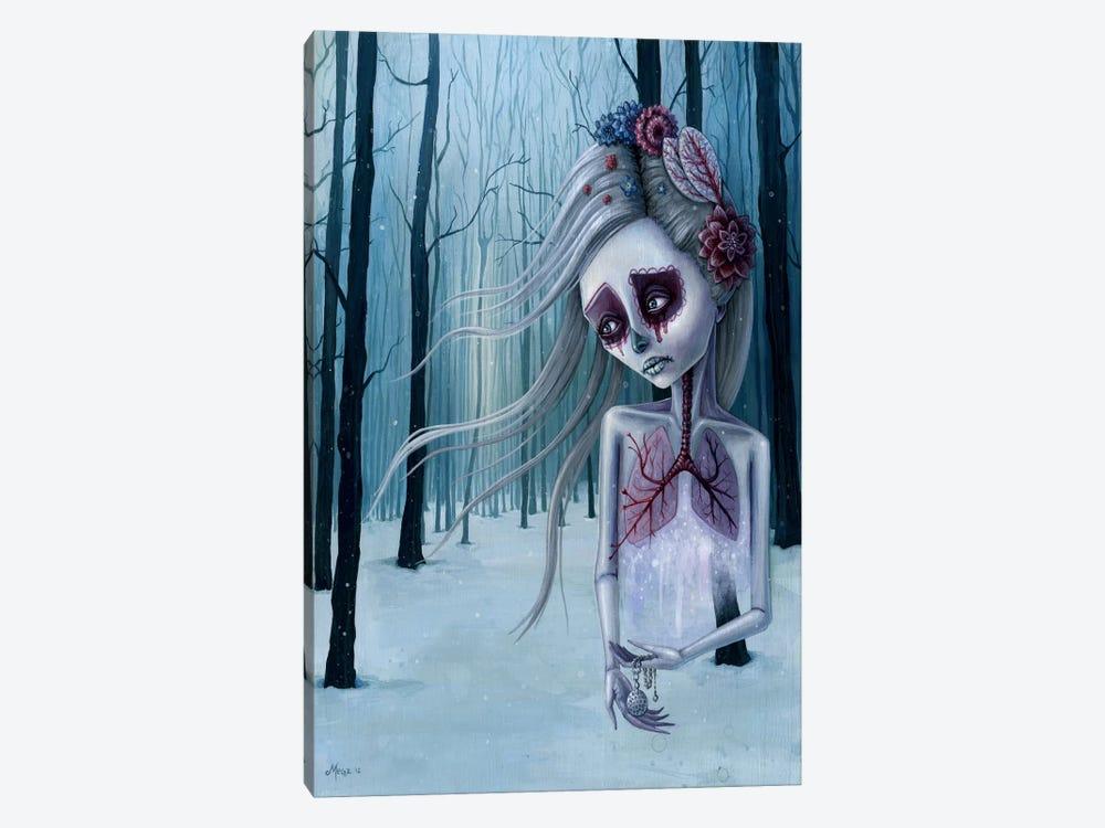Beautiful Decay Of Life by Megan Majewski 1-piece Canvas Art