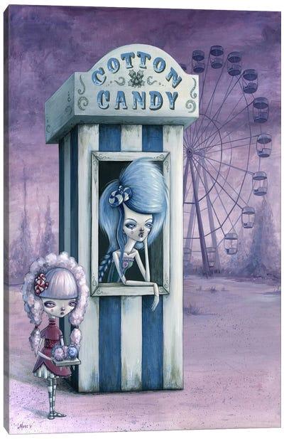 Cotton & Candy Canvas Art Print