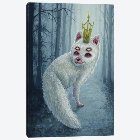 Dagur Canvas Print #MAJ17} by Megan Majewski Canvas Art Print