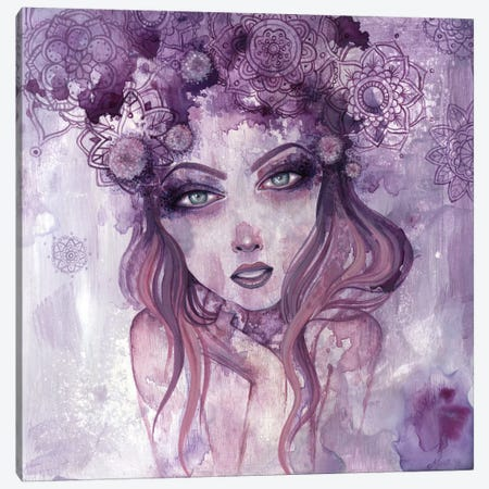 Dear Heart Canvas Print #MAJ18} by Megan Majewski Canvas Artwork