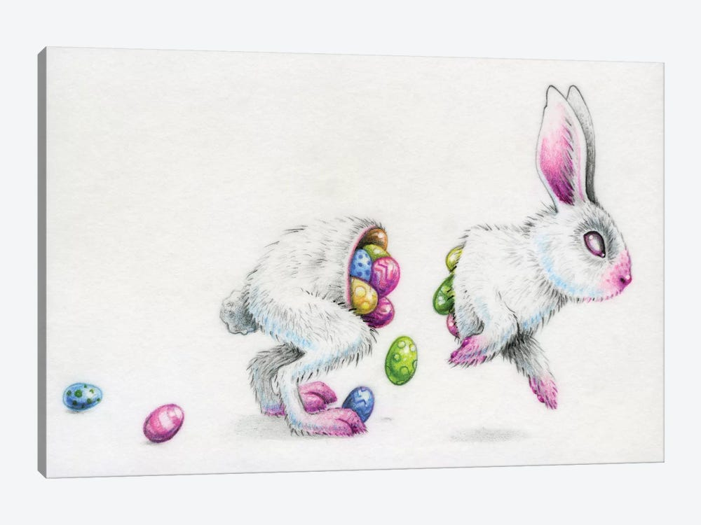 Eostre by Megan Majewski 1-piece Canvas Artwork