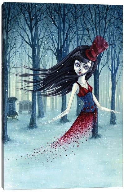 Eternal Winter Circus Canvas Art Print