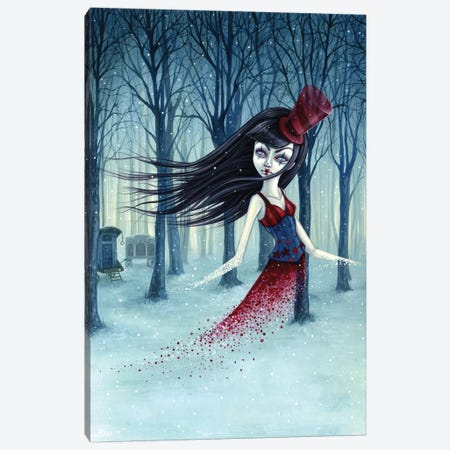Eternal Winter Circus Canvas Print #MAJ24} by Megan Majewski Canvas Wall Art