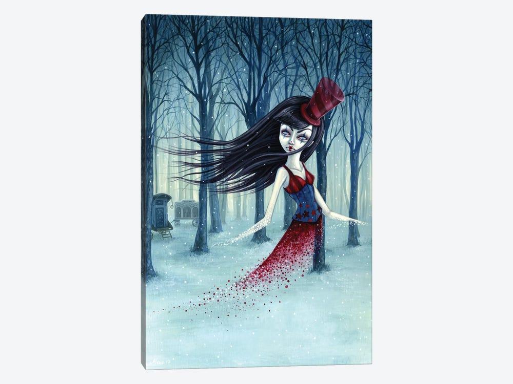 Eternal Winter Circus by Megan Majewski 1-piece Canvas Art Print